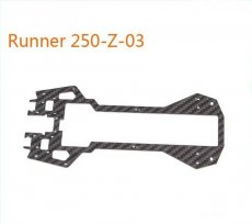 Original Walkera Runner 250 Spare parts Bottom main board Runner 250-Z-03 Carbon Fiber Board