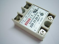 SSR-25 DA-H SSR 25A 90-480V Rectangle Shape Solid State Module Relay SSR-25DA-H