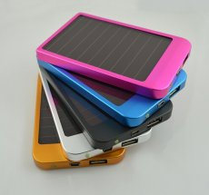 2600 Mah Portable Solar Charger Solar Power Bank Backup Battery For Mobile Phones