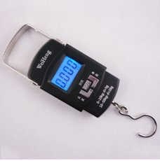 50KG 10G 10kg 5g Digital Handing Luggage Pocket Suitcase Fishing Weight Electronic Scale