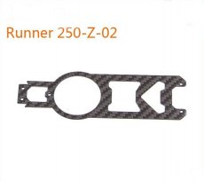Original Walkera Runner 250 Spare parts Upper Main Board Runner 250-Z-02 Carbon Fiber Board
