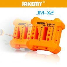 Jakemy Magnetizer Demagnetizer Magnetic Pick Up Tool for Steel Screwdriver Bit Tweezers Small Metal Parts