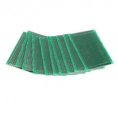 10PCS 5x7cm Breadboard PCB Strip Matrix Board PCB Board