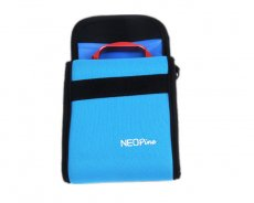 NEOpine GN-2 Colorful Stretchy Neoprene Collapsible Storage Case Waterproof For Gopro 4 3 Camera Blue GITUP GIT1 GIT2