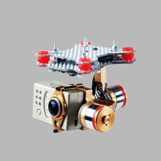 F07561 Brushless Motor Gimbal Camera Mount Full Set HMG188 Golden for Gopro 3 3+ SUPTIG DJI Phantom FPV