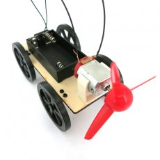 JMT Wind Car B2 Small Production DIY Science and Technology Model Popular Science Assembled Toys Creative Novelty Gifts