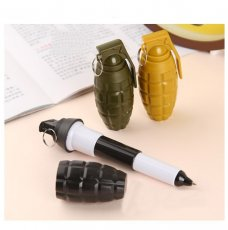 Creative Colorful Landmine Shape Stretch Ballpoint Pen Original School Supplies(10 PCS)