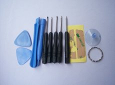 12 in 1 Repair Opening Pry Tool Kit Set with cutter for HTC SAMSUNG iPhone 4 4S 5S 5C plus