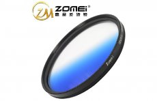F11730 Zomei GC-Blue 77mm Blue Color Graduated Filter Circle Lens Optical Neutral Density for SLR DSLR 24-70 24-105