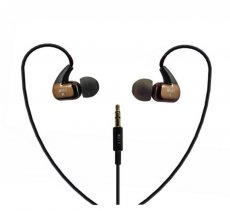 MOAO M210 3.5mm Bass Ear Headphones Sport Running Gym Exercise In-ear Earphone Computer Earbuds