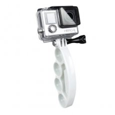 Knuckles Fingers Grip ABS Stick Selfie Tripod Mount + Screw for Gopro Hero 4 3 Plus 2 SJ4000 Camera