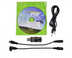 20 In 1 USB RC Heli Aircraft Car Simulator Cable RF-G 6.5/6/5 Online PX4.0 XTR FMS A-Fly VRC2