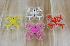 Kingkong Tiny7 Kit 75mm Main frame + 40mm 3-blade Propeller props for RC Racing Drone Quadcopter