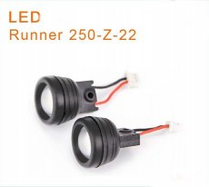 2PCs/lot Original Walkera Runner 250 Spare Parts Red LED Light Runner 250-Z-22