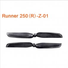 1 Pair Original Walkera Runner 250 Advance Propellers Spare Parts Propeller Set CW&CCW Propeller Runner 250PRO?250(R)-Z-
