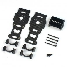Tarot TL96026-01 Diameter 25MM Carbon Fiber Models Motor Mounts For Helicopter