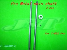 2PCS 450Pro Welded Metal main shaft AS H45022 For TREX 450 PRO Rc Helicopter