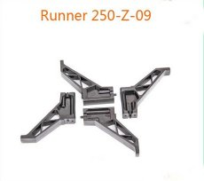 4Pcs Original Walkera Runner 250 FPV Quadcopter Parts Runner 250-Z-09 Landing Gear Skid
