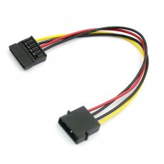 4Pin IDE to SATA Power Supply Cable 4Pin to 15Pin SATA Hard Drive Power Adapter Cable Wire 20cm
