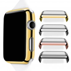 38/42mm Slim Full Body Cover Metal Case+Screen Protector for Apple Watch 1/2/3