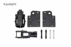 Tarot Z25 CNC Folding Arm Seat Mount TL25A1 / 6 Degree Tilt Holder TL25A2 Matte Black for RC DIY FPV Multicopter