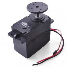 SUPER200 300 High Torque Metal Servo 12 24V 200kg.cm / 300kg.cm 0.5S/60 Degree BEC 5V for DIY Large Robot Arm