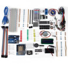 UNO R3 Starter Kit 1602 LCD Servo Dot Matrix Breadboard for Arduino