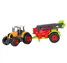 1:32 Plastic ABS Farmer Car Model toy Grain Harvesters Farm Tractor Grain Loader Educational Model Car Toys for Children Kids