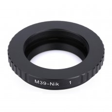 BGNING Camera Lens Adapter Ring M39-N1 for LEICA M39 Mount LTM Lens to N1 for NIKON Nikon1 J1 V1 Camera Mount Adapter