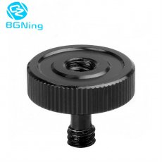 BGNING 1/4  Male to Female Screw Adapter Tripod Hot Shoe Camera Studio Parts for Camera Tripod L Type Flash Bracket Stand Mount