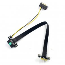 Graphics Extension Cable PCIe 3.0 PCIE x1 to x16 PCIE 3.0 Full Speed Compatible