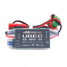 Output 5v / 6v 6A / 8A,2-6S LIPO 6-16 cell Ni-Mh Input Switch Mode UBEC BEC LV For 450 500 RC Heli