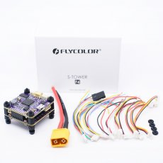 Flycolor 30.5x30.5mm Raptor S-Tower F4 OSD Flight Controller 40A BL_S DShot600 ESC For RC Models Racing Drone