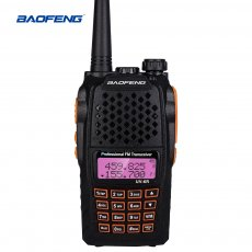 BaoFeng BF-UV6R Walkie-talkie Civil Hand-operated Radio Talkie Dual Band 5W Hotel Construction Site Self Drive Tour