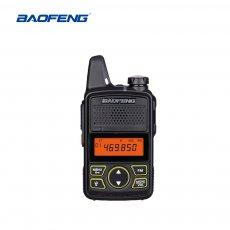 BAOFENG BF-T1 Walkie Talkie MINI Radio UHF 400-470MHz FM Transceiver With PTT Earpiece Hotel Civilian Radio Comunicacion Transceiver