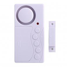 MingChuan Door Alarm System Anti-Theft Door and Window Security Alarm Loud 108 dB Home Security DIY Kit Motion Sensor Detect Alert
