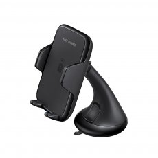 FCLUO Qi Car Wireless Fast Charger Bracket Suction Cup Bracket with Fast Charging Plug For Iphone Samsung Mobile Phone