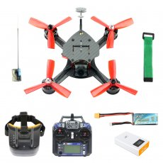JMT DIY FPV Racing Drone Quadcopter RTF F4 Pro V2 Flight Control 180mm Carbon Fiber Frame  Full Set with FPV Goggles