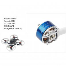 LDARC XT1104 5500KV Brushless Motor for ET115 3S Indoor FPV Racing Drone RC Mini Quadcopter