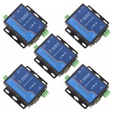 5PCS USRIOT USR-TCP232-410S Terminal Power Supply RS232 RS485 to TCP/IP Converter Serial Ethernet Serial Device Server