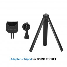 Sunnylife Multi Functional Handheld Gimbal Adapter Base with Tripod Mount & Extended Rod Stick for DJI Osmo Pocket Mini Camera Stabilizer