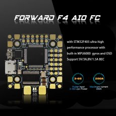 HGLRC Forward F4 AIO Flight Control for DIY FPV Racing Drone Quadcopter Aircraft