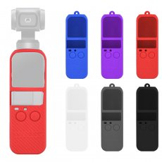 BGNING Soft Silicone Gel Camera Gimbal Body Protective Cover Silicon Wrap w/ Sling Neck Strap Lanyard for DJI OSMO POCKET Accessories