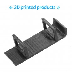 JMT Battery Holder Protection Seat Black TPU 3D Printed Printing For Happymodel Mobula7 HD Mobula 7 V3 Frame FPV Racing Drone
