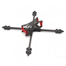JMT LHX 218 218MM Wheelbase Frame Kit 5MM Split Rack Carbon Fiber CF For DIY FPV Racing Drone Quadcopter