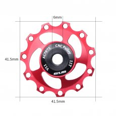 GUB V11 V13 Bicycle Rear Derailleur Bearing Wheel Aluminum alloy Wheel Rear Derailleur Mountain Durable Pulleys Bike Accessories