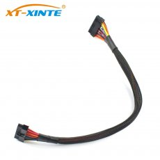 XT-XINTE Power Supply Cable 24Pin to 24pin Motherboard Cables 50cm 18AWG Wire for Great Wall Dragon 1250W/1000W/1560W/400W