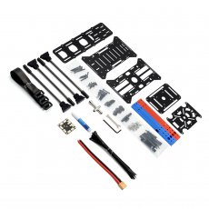 JMT BlueX380 Frame KIT Aluminum Tube Rack For DIY FPV Racing Drone Quadcopter Multicopter Multi-Rotor