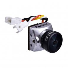 RunCam Racer Nano CMOS 700TVL NTSC/PAL Switchable 1.8mm/2.1mm Lens FPV Camera 6ms Low Latency Integrated OSD for RC Racing Drone DIY Quadcopter