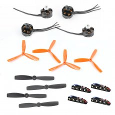 JMT Brushless DIY Combo Set Mini Racing Drone 210/250/270 Quadcopter Propellers & ESC LED Light & 2204 2300KV Motor